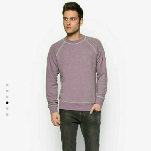 Reprice Zalora Baby Purple Sweater M