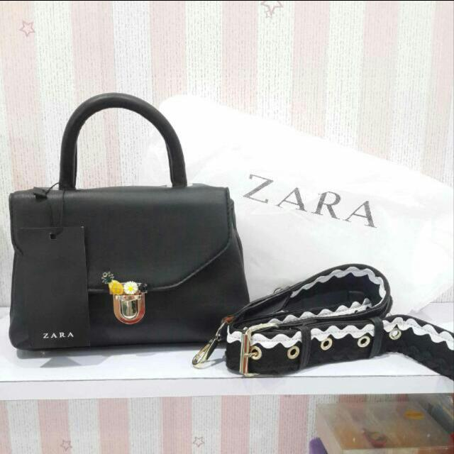 f9c7bcef909 [NEW] Zara Crossbody With Fastening/ Zara Sling With Small Pineapple,  Women's Fashion, Women's Bags & Wallets on Carousell