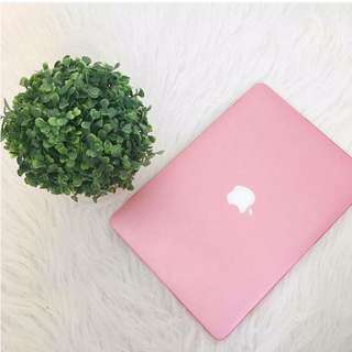 Baby Pink MacBook Case