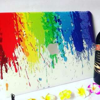 Paint Splash MacBook Case