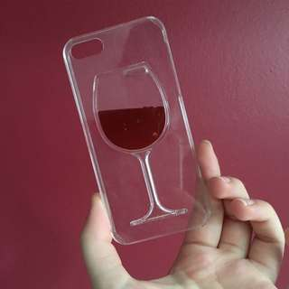 Wine Phone Case For iPhone 5 & 5S