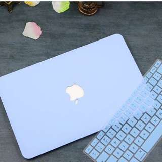 Blueberry Pastel MacBook Case