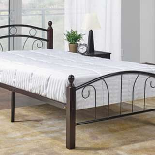Brand New Twin Metal Bed With Mattress Included