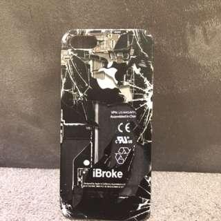 Case iphone 5/5s/se - ibroke