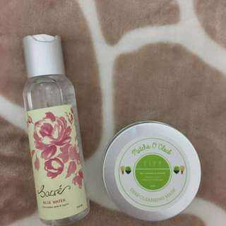 TIFF body Sacré Rose Water And Matcha O'clock Deep Cleansing Mask