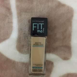 Maybelline Fit Me Foundation - 128 Warm Nude