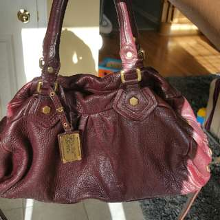 Authentic Marc Jacobs Leather Handbag