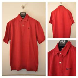 Poloshirt NIKE RED ORIGINAL