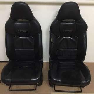 Subaru WRX 2008-2011 Front Pair Leather Seat