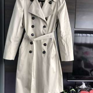 Authentic Burberry Slim trench coat - size 10