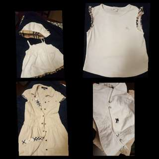 Burberry Clothes 3T