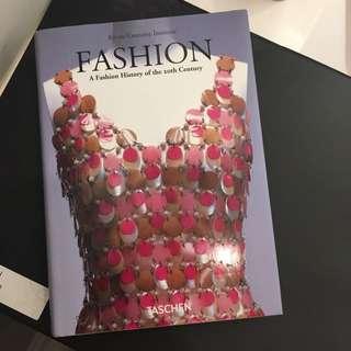 Fashion History Book By Taschen
