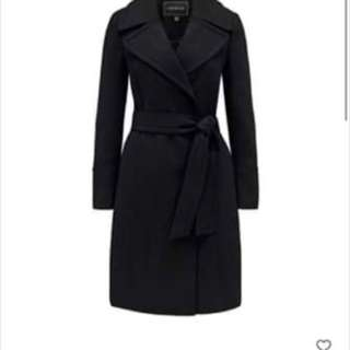Black Forever New Coat