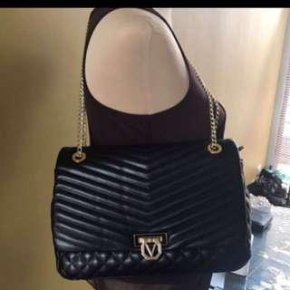 REPRICED!!! Valentino Black Quilted Bag Medium