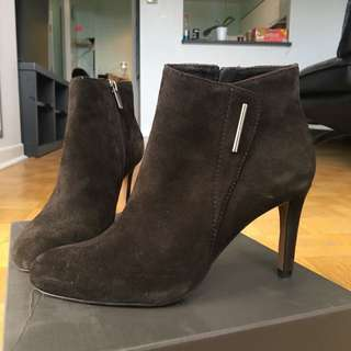 Vince Camuto Suede Heeled Booties