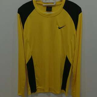Yellow Nike Sports Clothes