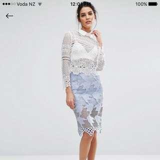 Asos Glamouras Lace Skirt