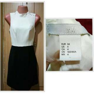 H&M Blck & White Dress