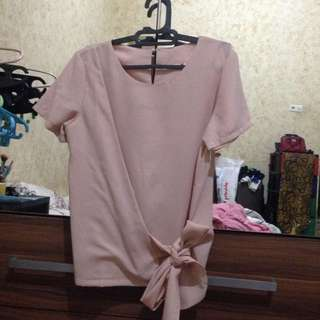 Yuan Peach Blouse