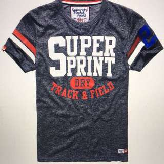 Superdry極度乾燥男性短T恤