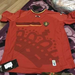 Belgium Home National Soccer Jersey 2XL