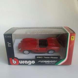 1/43 Bburago Race and Play Ferrari 250 Testa Rossa