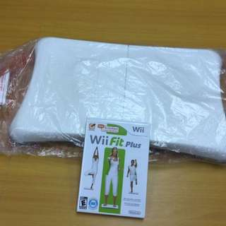 Wii Fit Plus + 平衡板
