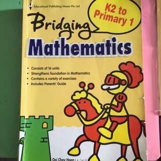Bridging Maths (k2 To Primary 1)