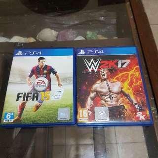 W2k17 & Fifa 15