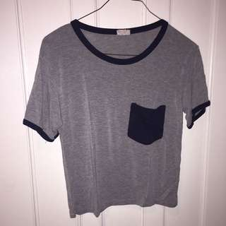 Brandy Melville Grey T-Shirt