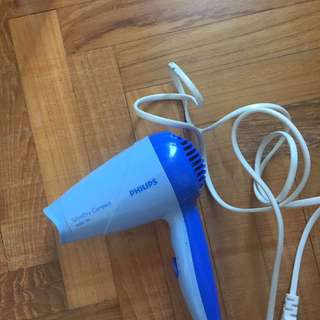 Philips hairdryer compact 1000w