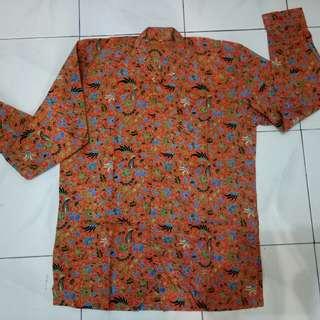 Baju Batik Pria#Cintadiskon
