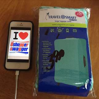 TRAVEL SMART CON AIR LUGGAGE COVER LARGE SUITCASE
