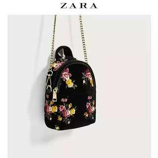💗🌻(預購)Zara.初秋新品~多功能三用迷你背包