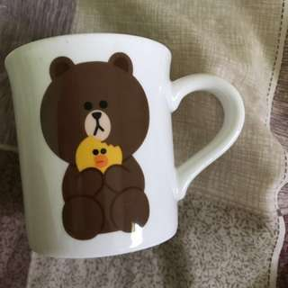Line Friends 熊大馬克杯
