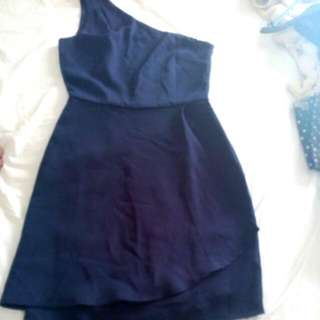Navy Blue Sexy Dress