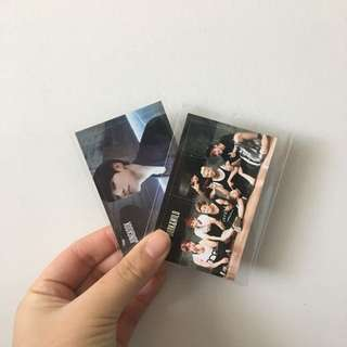 BTS bangtan Jungkook Dark N Wild Photocard