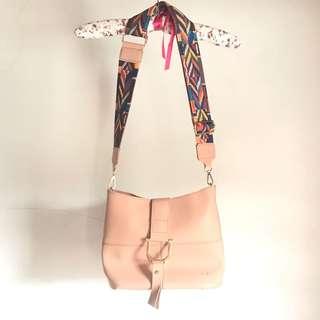 Pinky Peach Sling Bag