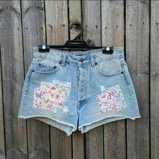 Sportsgirl Size 8 Denim Shorts