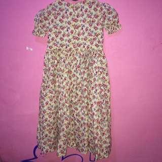 Dress For Kids ( Flower Pattern)