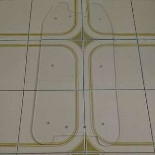 Acrylic Deck Liner For Dualtron Ex X3
