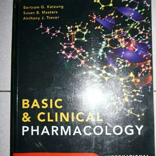 Basic & Clinical Pharmacology (12th Edition) International Edition - Katzung, Masters, Trevor
