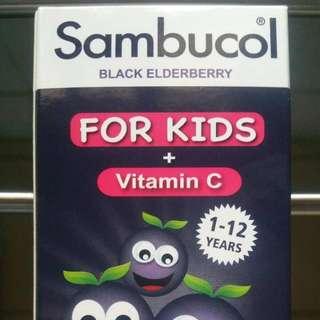 Sambucol Kids Formula UK Version