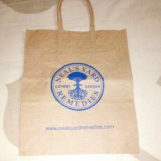 Neal's Yard Remedies Small Paper Bag
