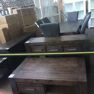 Dinning Table Tv Unit