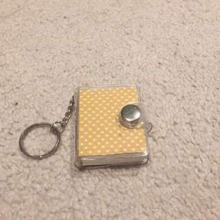 Notebook Keyring