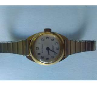 vintage gold womens Bifora 17 jewel watch