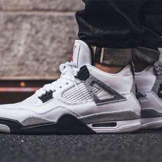 DS Air Jordan 4 White Cements sz11