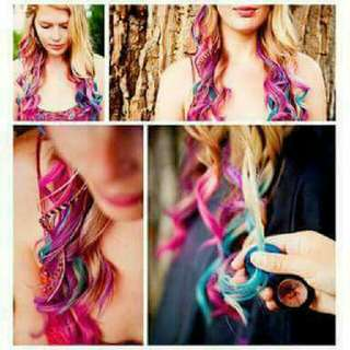Temporary Hair Chalk Dye