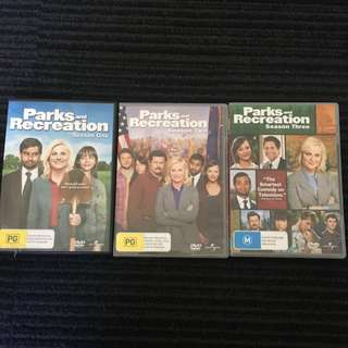 Parks And Recreation Seasons 1, 2 & 3